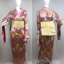 Kimono Geisha Dress Obi ANIME Cosplay Costume Long  Sz M /8-10 Japan W