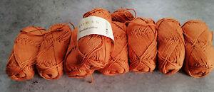 Rowan handknit cotton 400g 100% Baumwolle #350 terracotta Supergarn