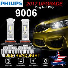 9006 180W 18000LM LED Headlight Kit Light Bulbs 6000K High Power No Error USA