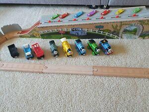 Thomas Wooden Railway Musical Melody Trackset & Trains molly porter percy - Rare