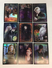 "HARRY POTTER & THE HALF BLOOD PRINCE Series One Complete ""RARE"" Chase Card Set"