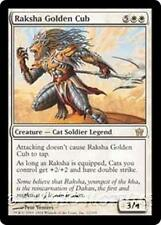 RAKSHA GOLDEN CUB Fifth Dawn MTG White Creature — Cat Soldier RARE
