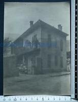 ANCIENNE PHOTO 1900 ALBERTVILLE MAISON SAVIGNON HORVAIS SAVOIE PHOTOGRAPHIE