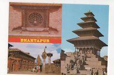 Bhaktapur Nepal Postcard 159b
