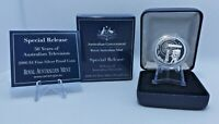 2006 $1 Silver Proof Coin 50 Years of Australian Television A Privymark ANDA