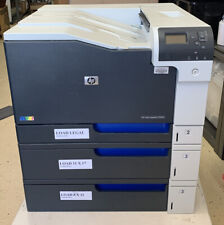 HP CP5225 Color LaserJet Professional Printer - Powers ON