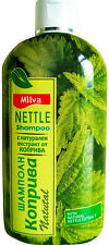 Milva Shampoo with 100% Natural Nettle Extract - Anti Dandruff & Hair Loss 200ml