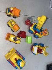 Sesame Street 1999 Tyco Preschool Toys 9 pieces Pre-Owned