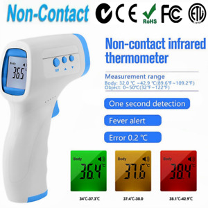 New AIQURA Non-Contact Infrared Digital Thermometer Baby Adult Temperature Gun