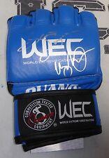 Scott Jorgensen & Urijah Faber Signed Official WEC Fight Glove PSA/DNA COA UFC