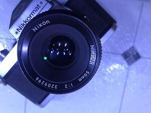 Nikon Nikkormat Ft2 Vintage SLR 1975