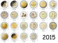 2 Euro Gedenkmünze 2015 - Alle Länder verfügbar