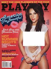 US Playboy Magazine 2009-06 America Olivo, Candice Cassidy, Ida Ljungqvist ...