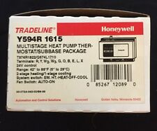 Honeywell Y594R1615 Heat Pump Low Voltage Thermostat 24V