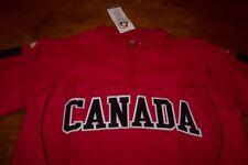 CANADA WORLD BASEBALL STITCHED JACKET SMALL NEW