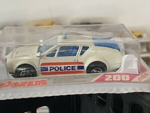 Majorette Serie 200 Alpine A 310 Police Blanche