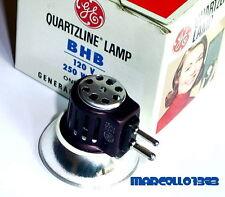 LAMPADA BHB 120 V 250 W GY7.9 PER PROIETTORE 16 mm  (Bell & Howell, RCA)