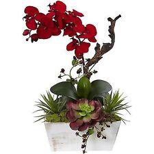 Adorno floral, centro de mesa y festón