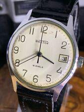 VOSTOK USSR Dress Watch Mechanical Men's Wristwatch 2214 Vintage Soviet #0692