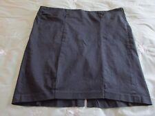 Torrid Black Stretch Corset Detail Side Zip Above Knee Pencil Skirt SZ: 18