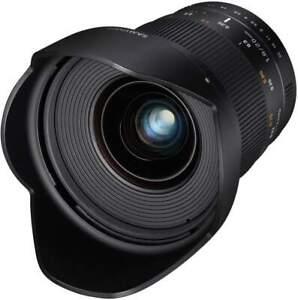 Samyang 20mm F1.8 UMC II Canon EF Full Frame Camera Lens