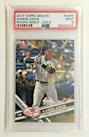 2017 Topps Update Aaron Judge #/2017 Gold Parallel US99 Rookie RC PSA 9 MINT