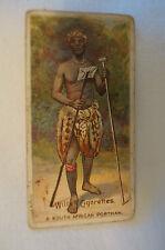 Vintage 1900's-Wills British Empire Series Card- South African Postman -Capstan