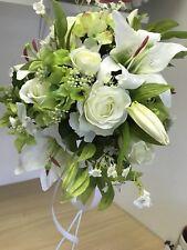 Artificial Wedding Bouquet, Bride, Bridal, Silk, Rose, Lily, Hydrangea Display