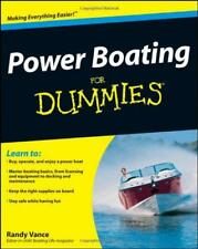 Power Boating pour les nuls par Randy VANCE Livre de poche 9780470409565 NEUF