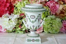 Wedgwood, Japer, Three Color Pedestal Urn