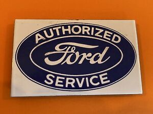 Souvenir Fridge Magnet - Metal Ford Sign