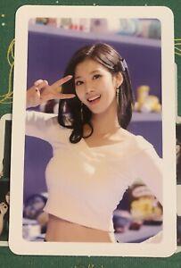 KPOP twice sana merry&happy offical album photocard