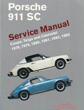 SHOP MANUAL 911 SERVICE REPAIR 911SC PORSCHE BOOK BENTLEY HAYNES CHILTON