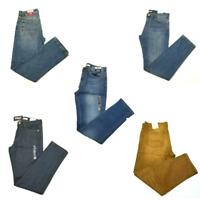 Tommy Hilfiger Men's Denim Jeans Slim Fit Stretch Casual Rinsed Stonewashed