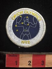 ORION OLYMPICS 1992 Patch - Draws On Star Constellation Theme - Astronomy 77V5