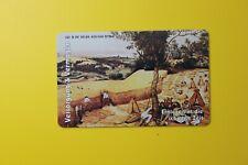 Germany Telefonkarte -Versorgung Paint- Collectibles Old Vintage Tele Phone Card