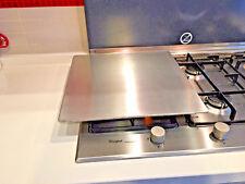 Piastra inox 18/10 scottare cucinare grigliare verdure tagliata pesce bistecca