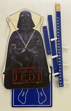Vintage Star Wars Height Chart & Coat Rack American Toy & Furniture Co ROTJ 1983