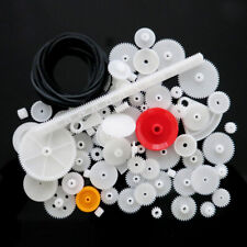 81Pcs Gear sets 0.5 Assorted Plastic Gear Wheel DIY Radio Control Toys Hobbies