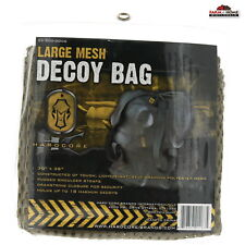 Large Mesh Decoy Bag Backpack Drawstring Duck Goose Turkey ~ New