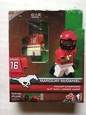 Cfl Oyo Calgary Stampeders Marquay McDaniel G1 Le Series 1