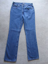 New LondonJean Blue Denim Unisex Womens Mens Straight Jeans Pants size 10