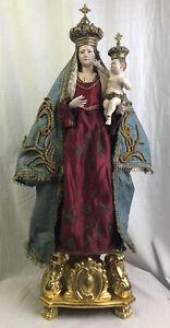 Madonna Del Carmine Carmelo  Mary Our Lady Santo Vestito Saint Santon 67 Cm