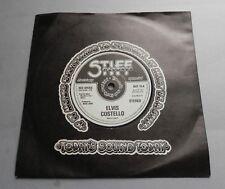 "Elvis Costello - Red Shoes UK Stiff 1977 Solid Centre 7"" Single Stiff Sleeve"