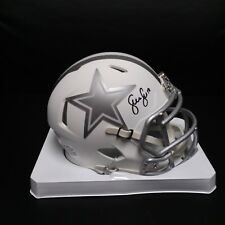 Sean Lee Cowboys ICE mini helmet  JSA COA