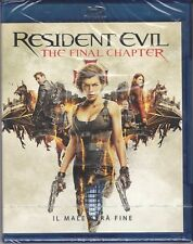 Blu-ray **RESIDENT EVIL ~ THE FINAL CHAPTER** nuovo 2017