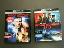 Blade Runner 2049 & The Final Cut Slipcovers 4K Uhd, Blu-ray Disc lot Ford