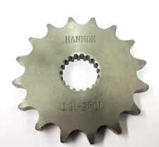 Gearing Upgrade 16T front Sprocket for K157FMI for Sinnis Apache 125 QM125GY