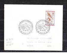 ec68/ Enveloppe   1er jour  JO sports d' hiver  FFSG   Paris    1968