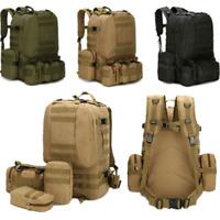 60L Molle Outdoor Military Bag Camping Hike Trekking Waterproof Backpack Useful